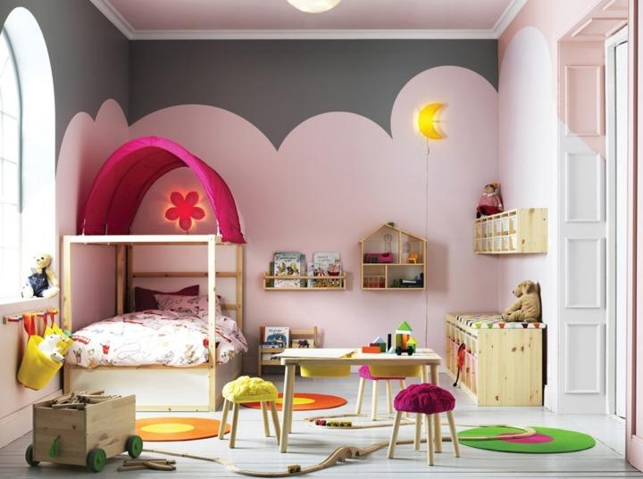 especial ninas habitacion muebles rosa