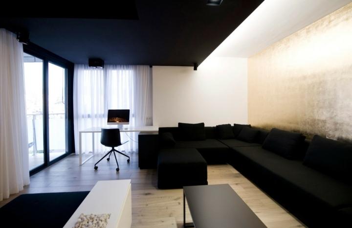 especiales chimeneas cortinas claras sofa