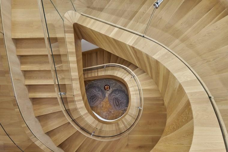 espectacular diseño escaleras madera