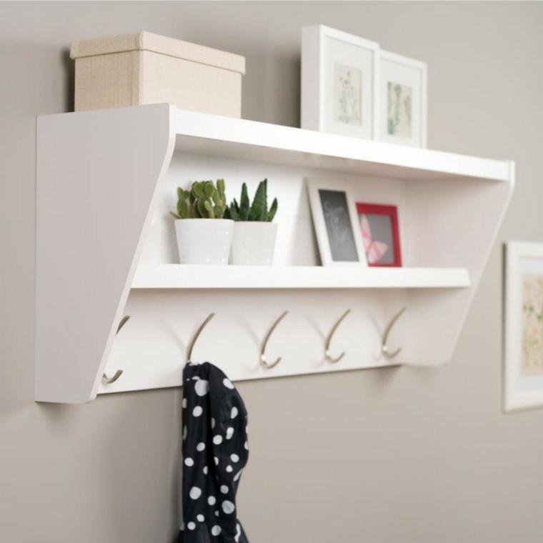 estilo minimalista recibidor