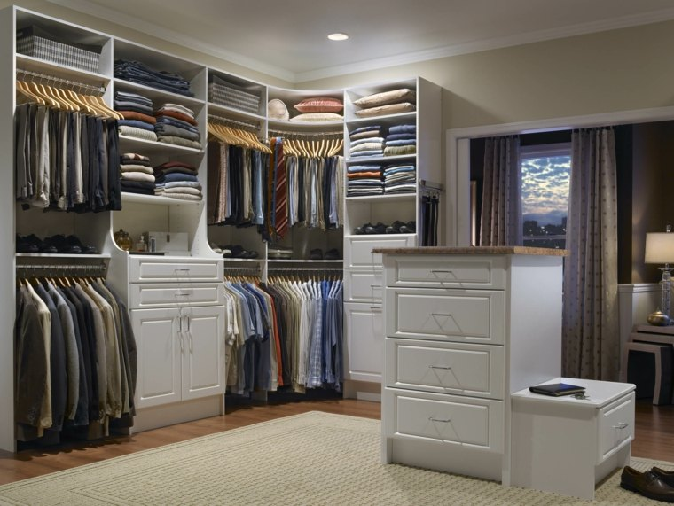 estilo moderno habitacion vestidor opciones ideas - Habitacion Vestidor