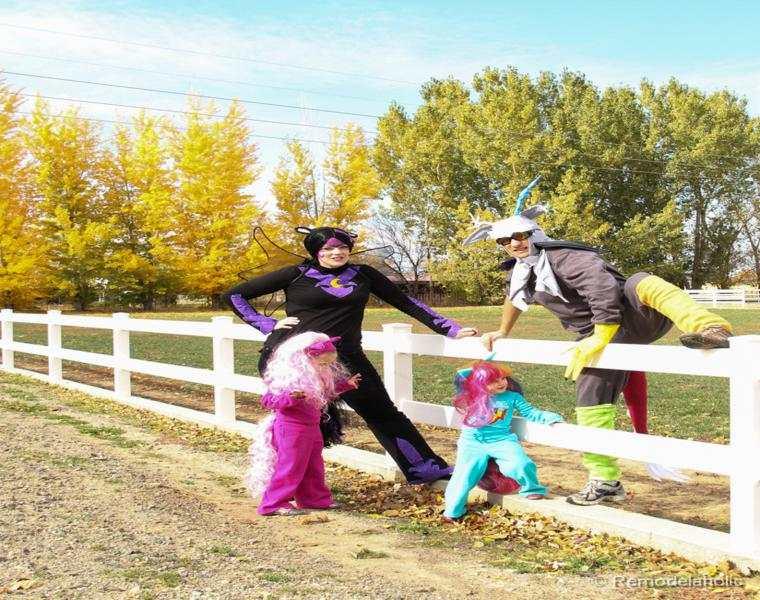 estupendas ideas disfraces halloween familia