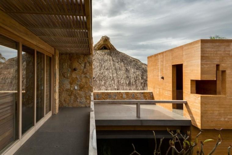 estupendas vistas terraza casa tejado