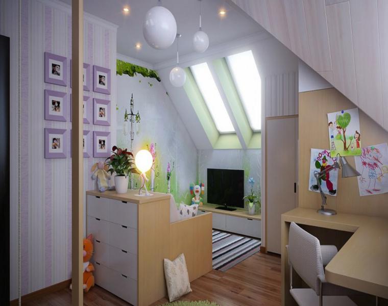 estupendo diseño interior habitación