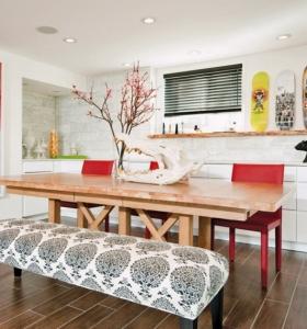 decoracion salon comedor ideas para ahorrar espacio