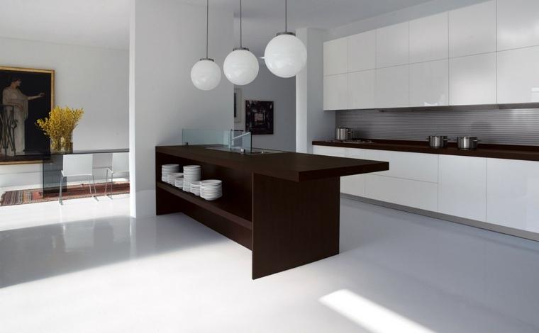 Cocinas minimalistas 24 dise os de interiores for Disenos de interiores de cocinas