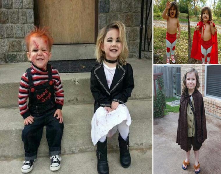 estupendos disfraces niños pequeños