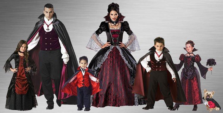 estupendos trajes familia monster