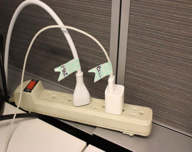etiquetar nombre cada cable
