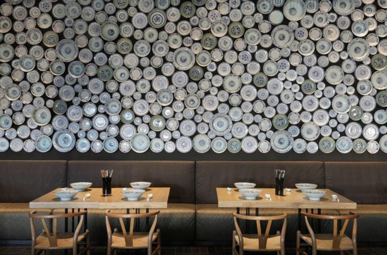 excepcional diseno paredes platos ideas