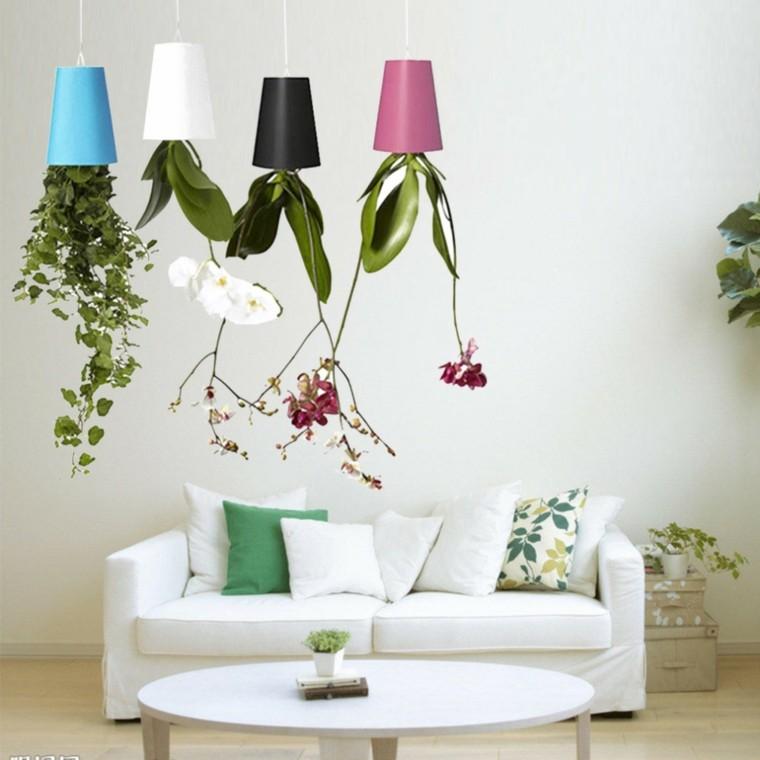 plantas colgantes ideas para el interior. Black Bedroom Furniture Sets. Home Design Ideas