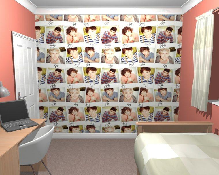fotografías para decorar paredes completas