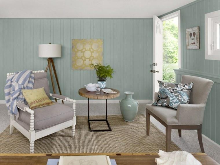 Gama de colores para pintar paredes y animar el dise o - Gama de colores verdes ...