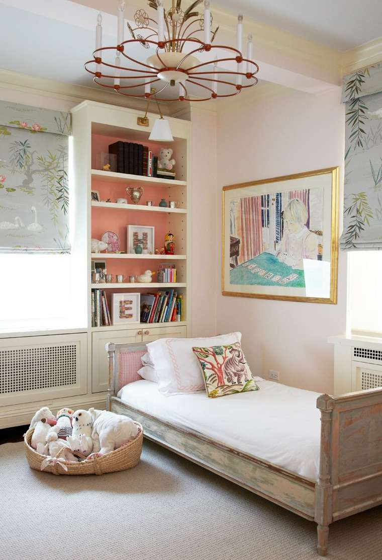 gama de colores para pintar paredes habitacion ninos ideas