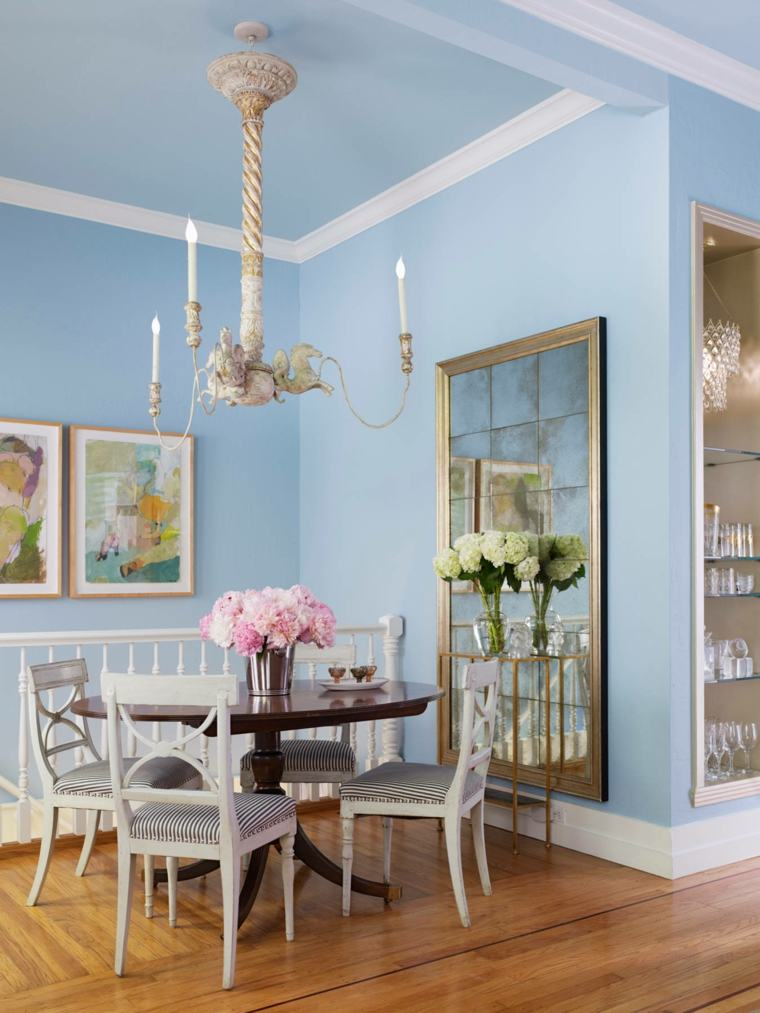 gama colores pintar paredes shabby chic ideas
