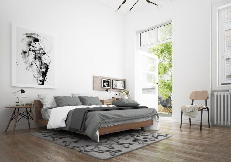 grises detalles conceptos materiales escandinavo