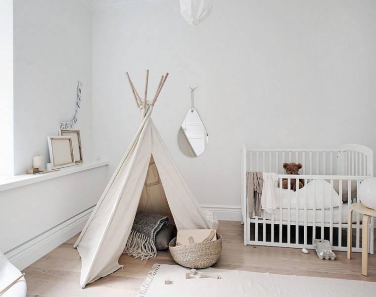 habitación moderna bebé tienda