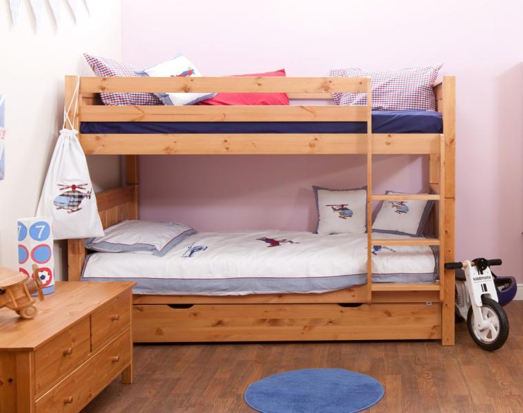 habitacion juvenil litera madera