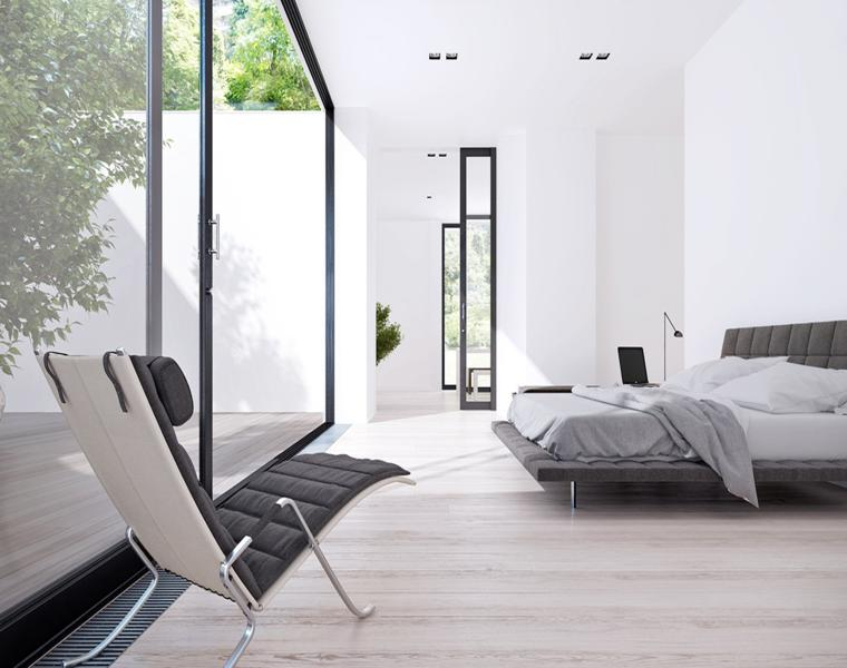 habitacion diseño moderno minimalista