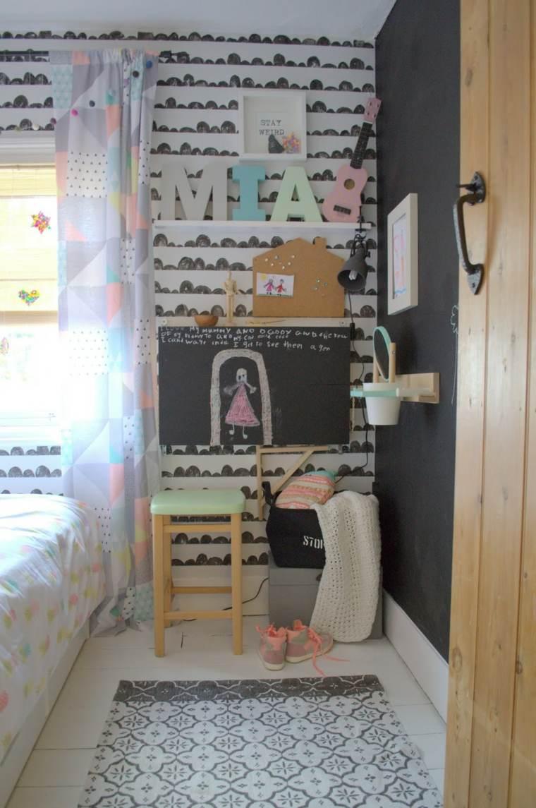 habitaciones ninos decoracion pared perfecta ideas