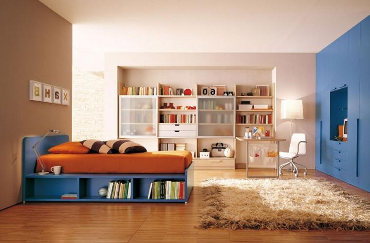 habitaciones ninos espacios amplios coloridos ideas