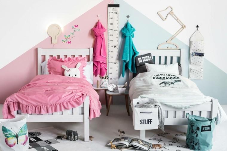 habitaciones ninos espacios compartidos ideas