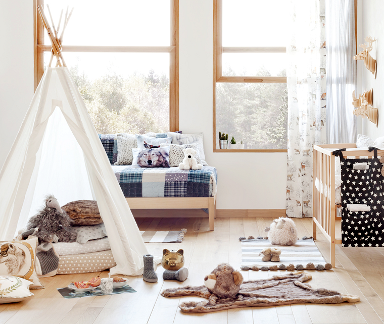 habitaciones ninos tienda capana ideas