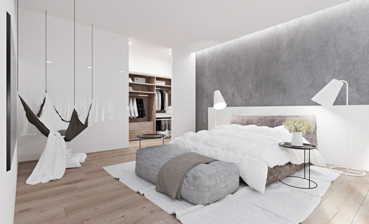 hamaca espacio relajado dormitorio muebles
