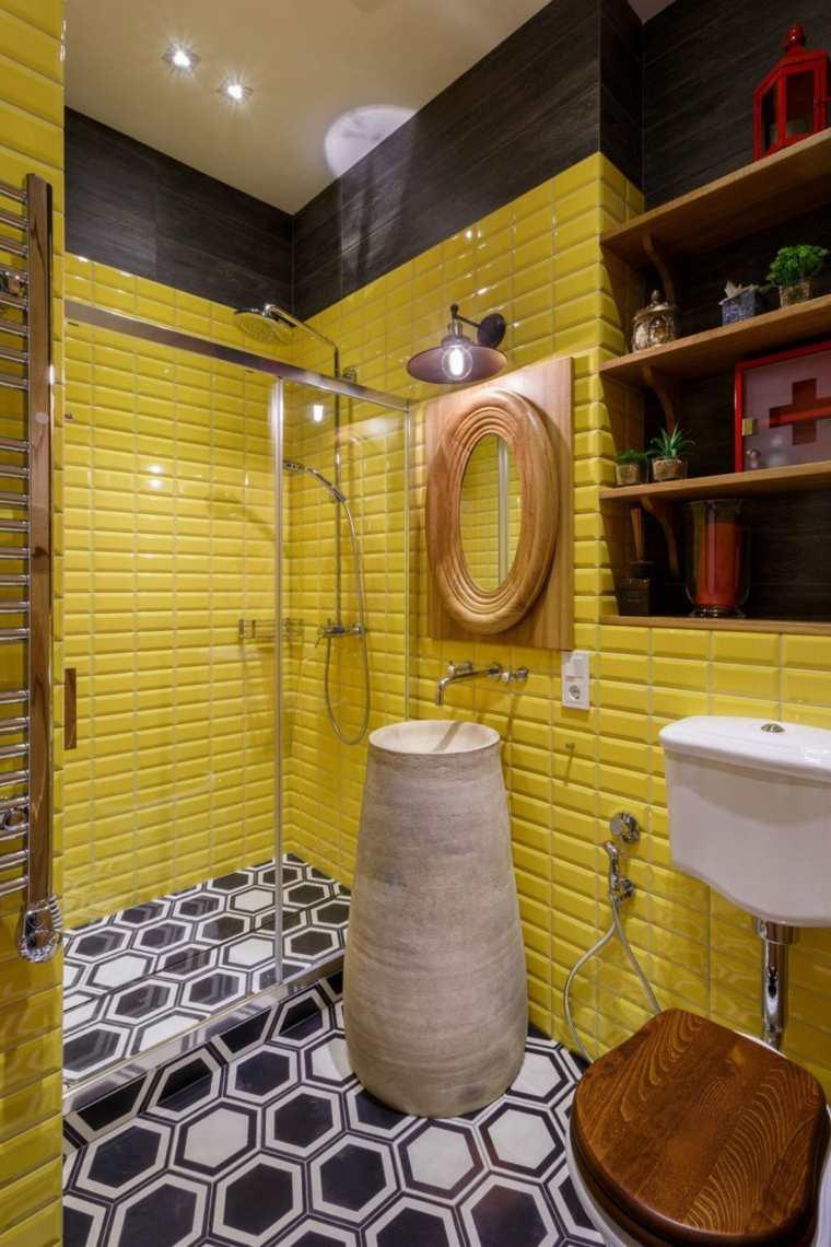 hogar diseno svoya studio ucrania bano amarillo ideas