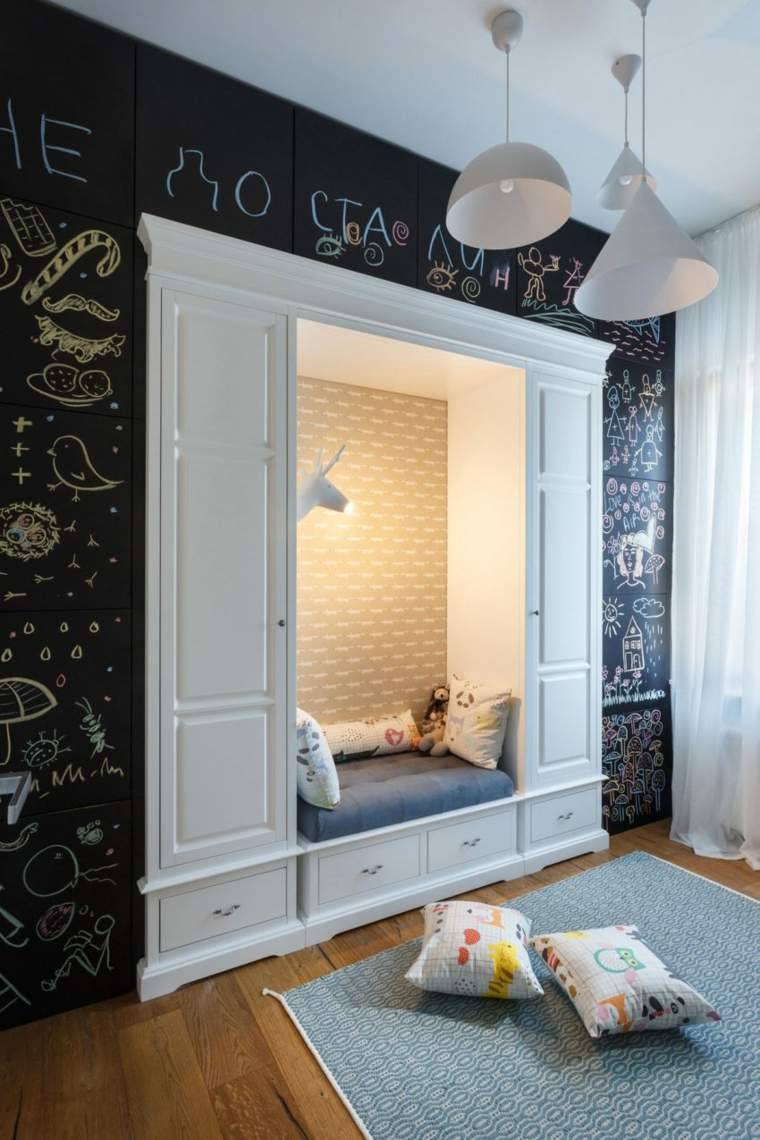 hogar diseno svoya studio ucrania pared pizarra ideas