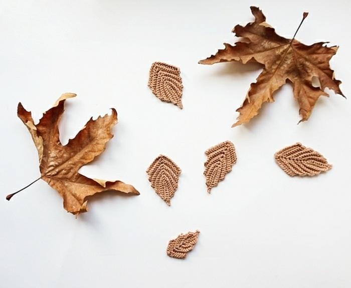 hojas tejidas especiales colores originales
