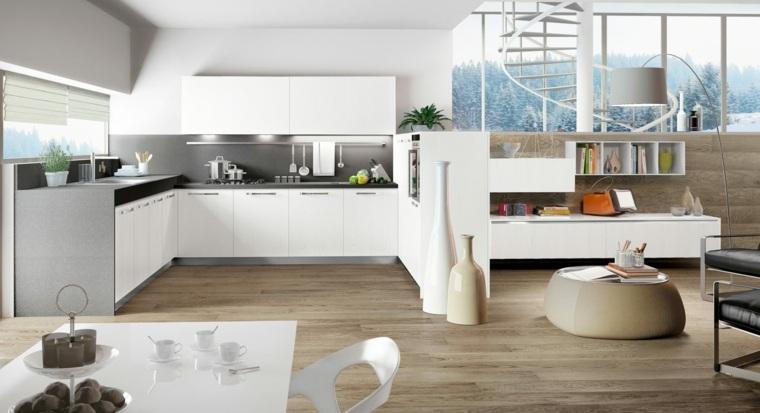 ideas cocinas enu modelos madera