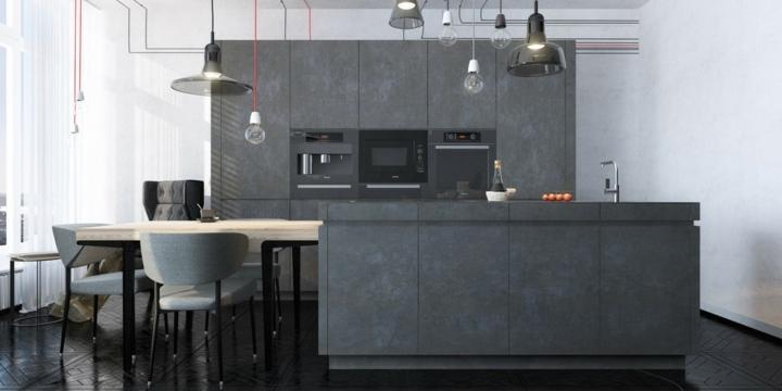 ideas decoraciones materiales disenos gris