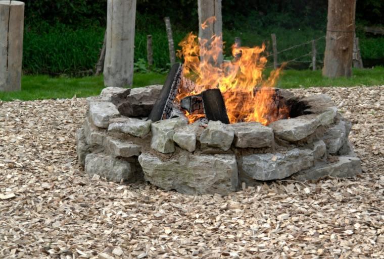ideas diseño pozos fuego
