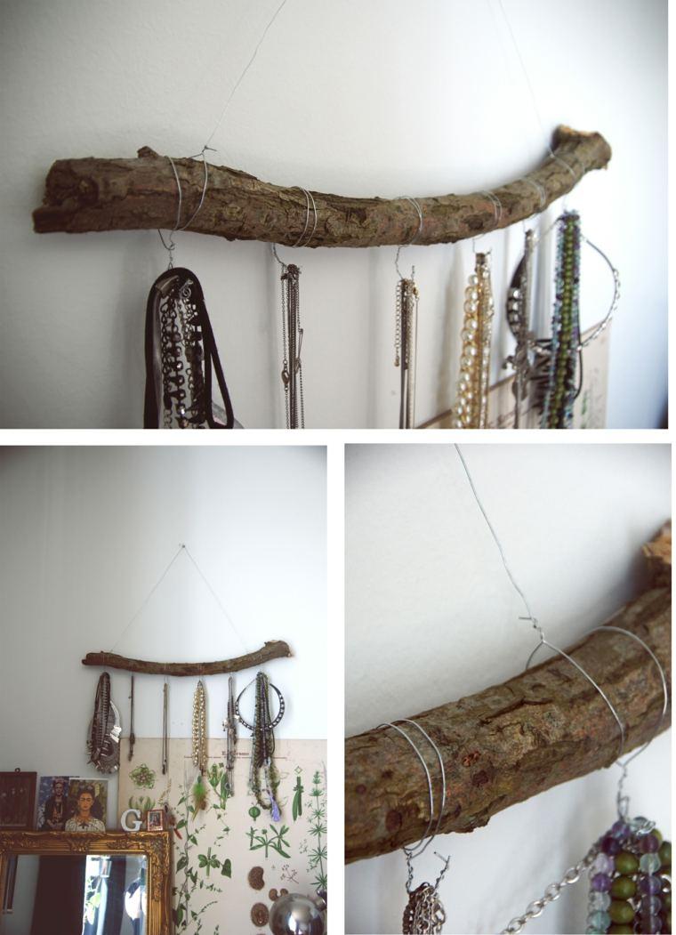 ideas diy perchas madera