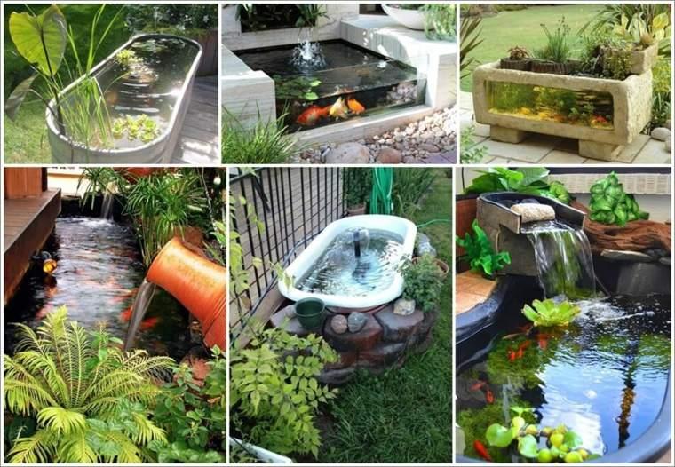 Estanques diy de dise o minimalista para peces koi for Diseno de jardines caseros