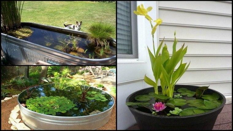 ideas para hacer estanques