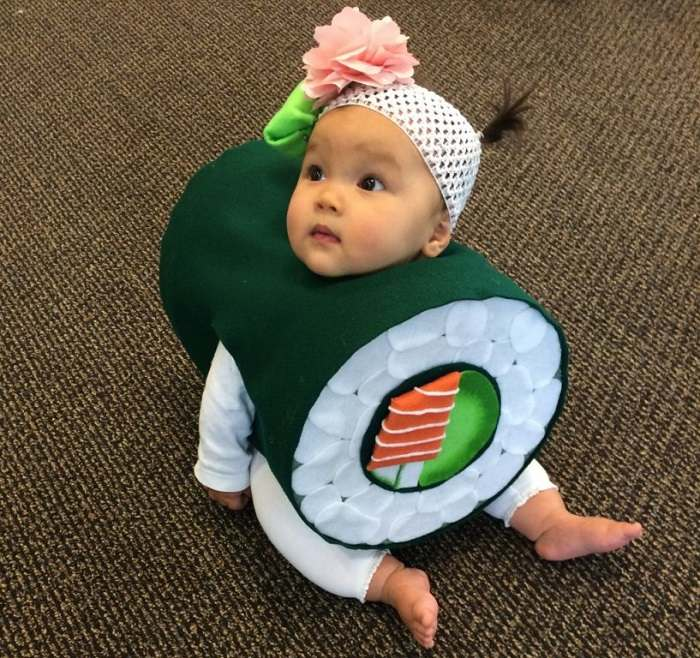 ideas sushi creativa nina niña