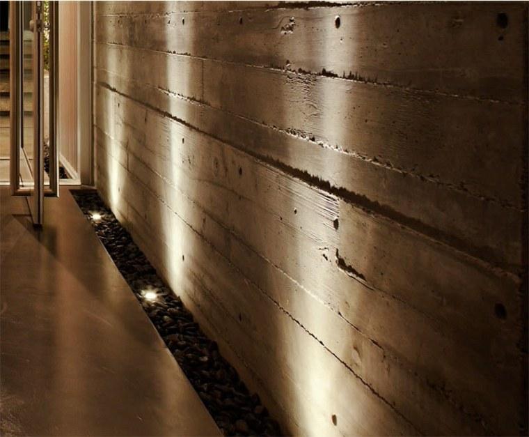 iluminacion especiales concreto paredes texturas
