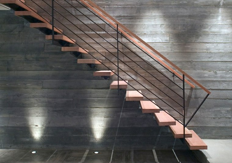 iluminacion especiales escaleras estilos madera