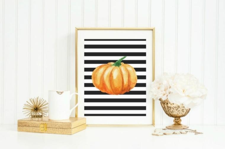 Decoracion de Halloween contemporánea - 42 ilustraciones -