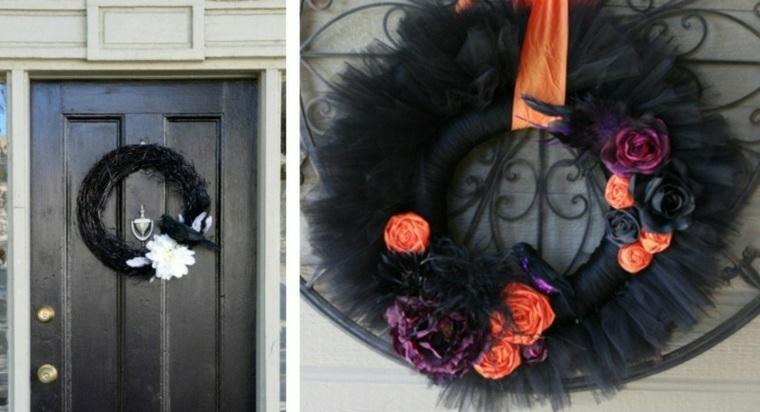 imagenes comedores exteriores puertas naranja