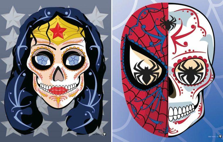 imagenes calaveras supererohes catrina