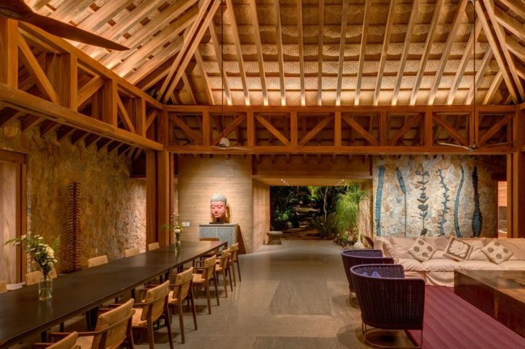 increible diseno interior de madera