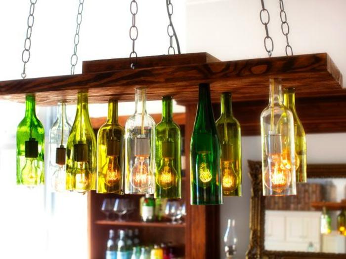 Decoracion Botellas De Vidrio