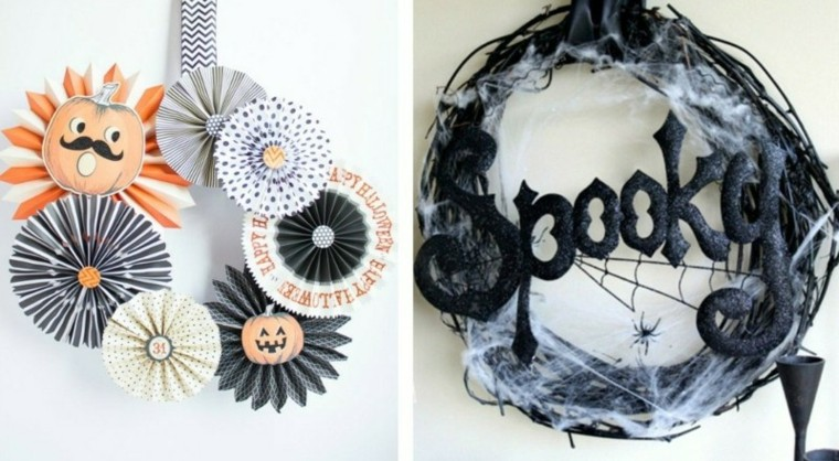 inspiradores halloween decoraciones materiales calbazas
