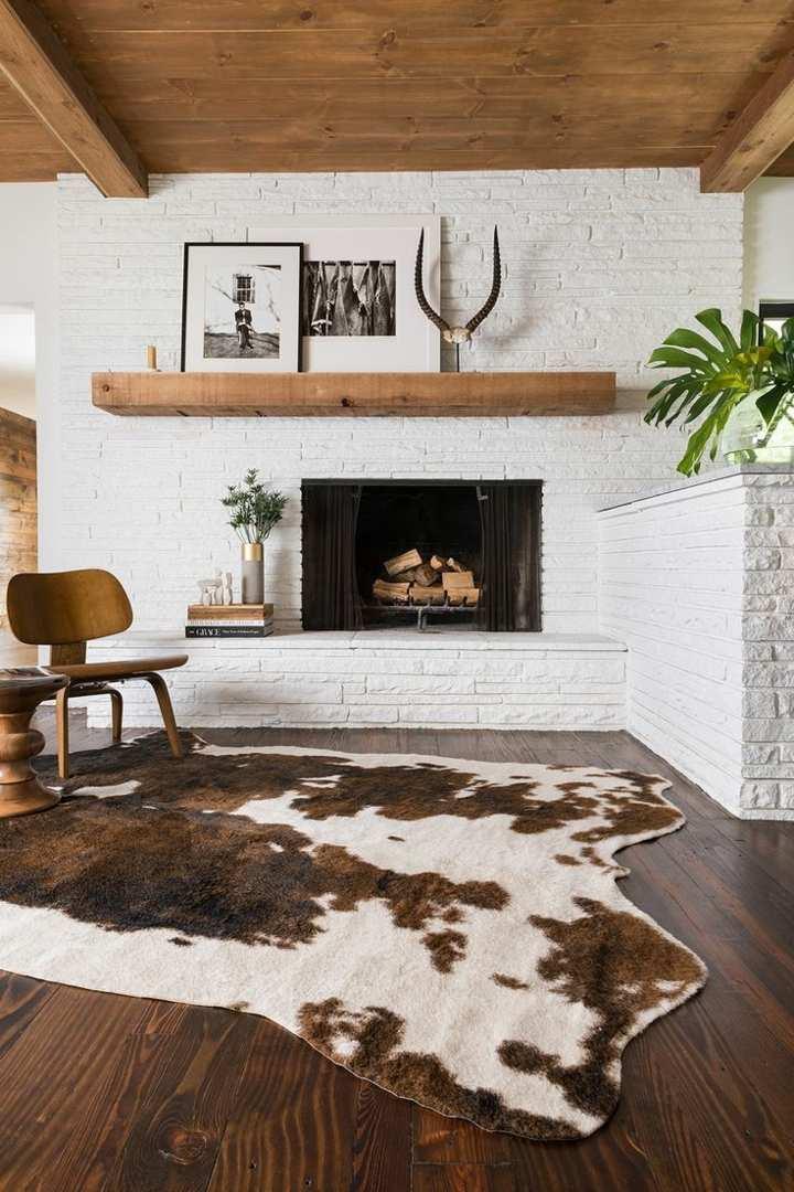 integraciones cuernos maderas plantas salones