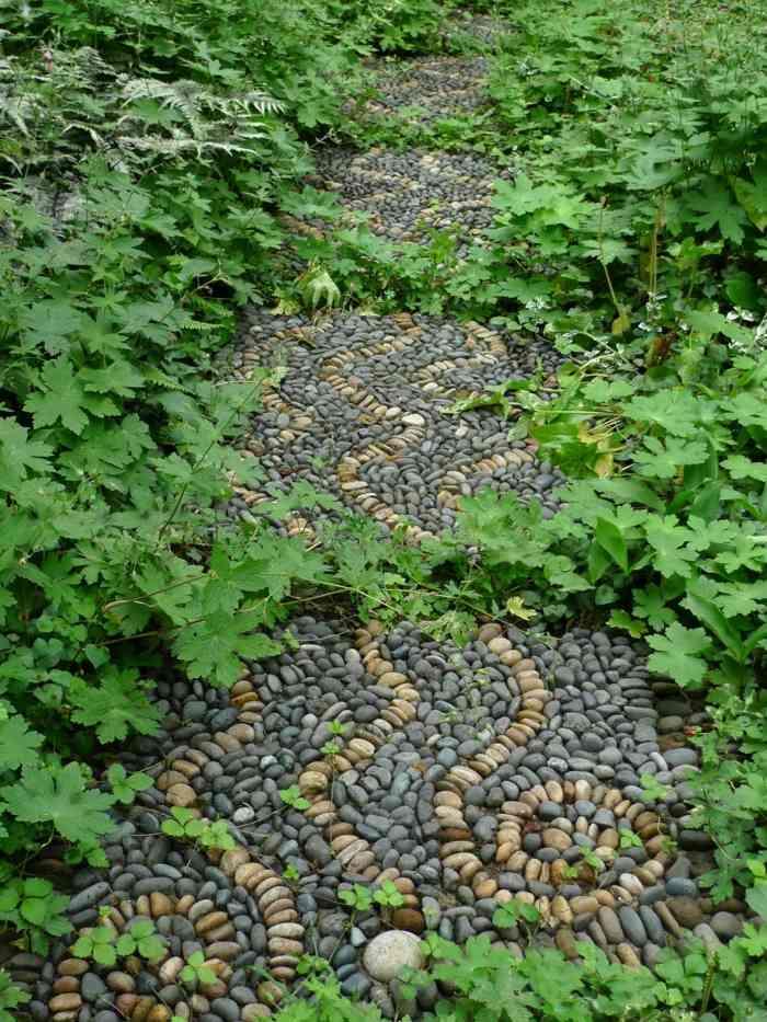 jardines piedras artisticos muebles plantas