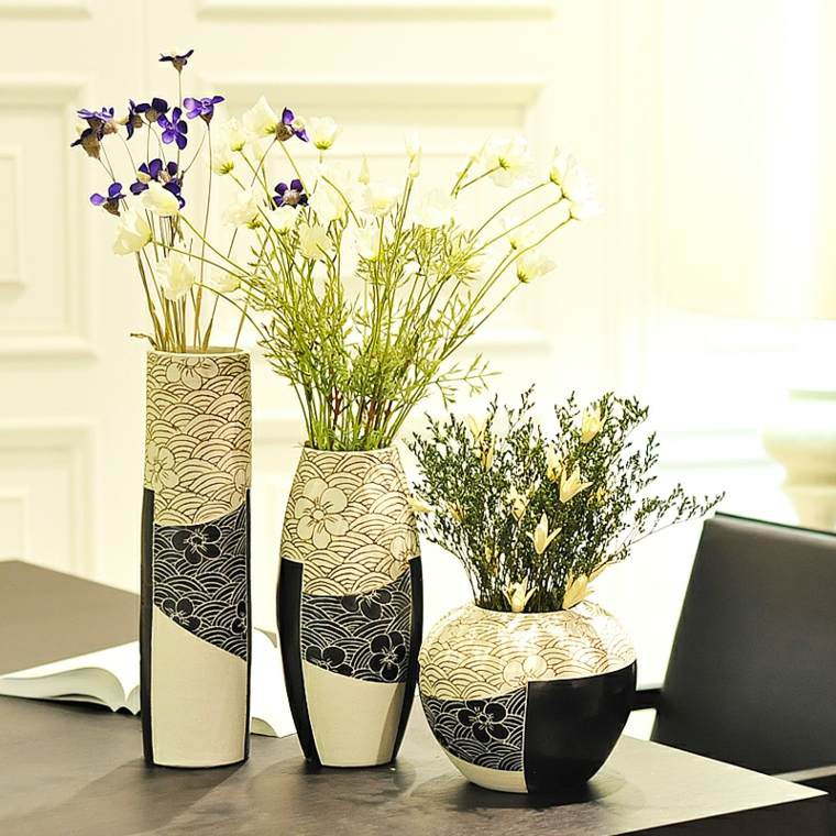 jarrones decorados interior - Jarrones Decorados