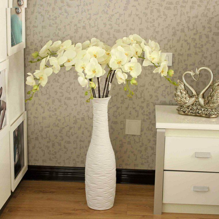 Jarrones decorativos originales y modernos - Decoracion de jarrones con flores artificiales ...